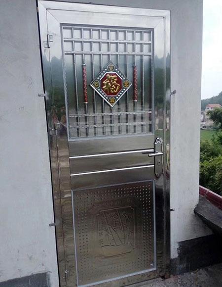 不锈钢管门