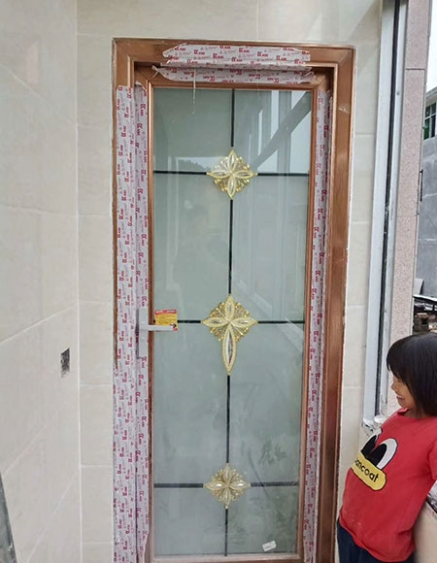 石城卫生间门设计