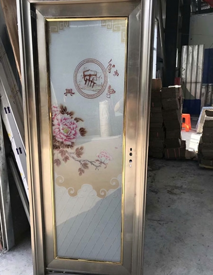 高安不锈钢卫浴门