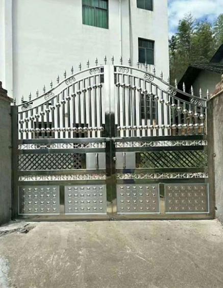 不锈钢庭院门生产
