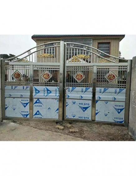 不锈钢庭院门制作