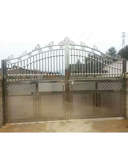不锈钢庭院大门