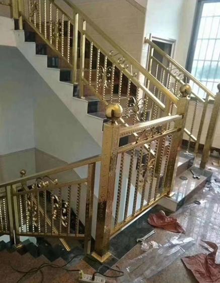 石城别墅不锈钢楼梯扶手