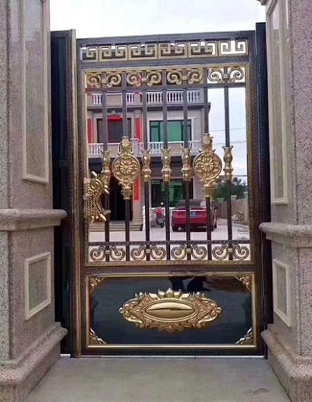 于都欧式庭院大门